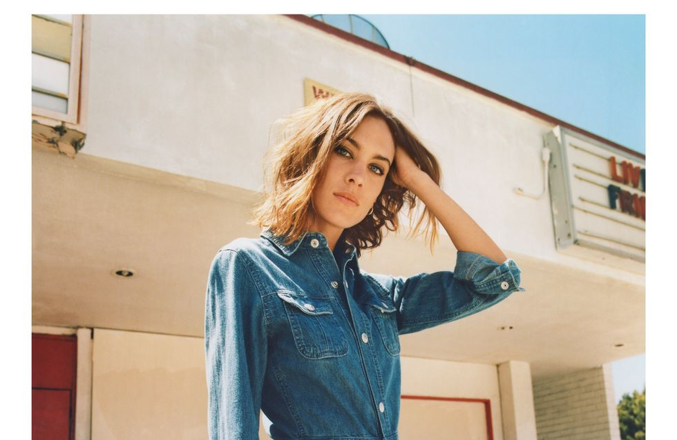 Alexa Chung x AG Jeans : Qu'est-ce qu'on shoppe ?