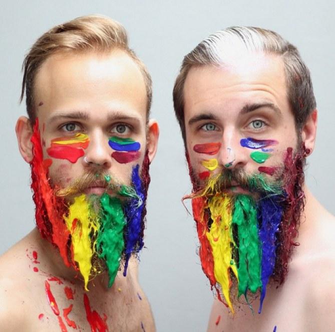 Decoración para barbas