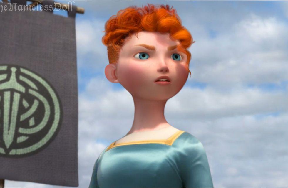As princesas da Disney dizem adeus aos cabelos longos