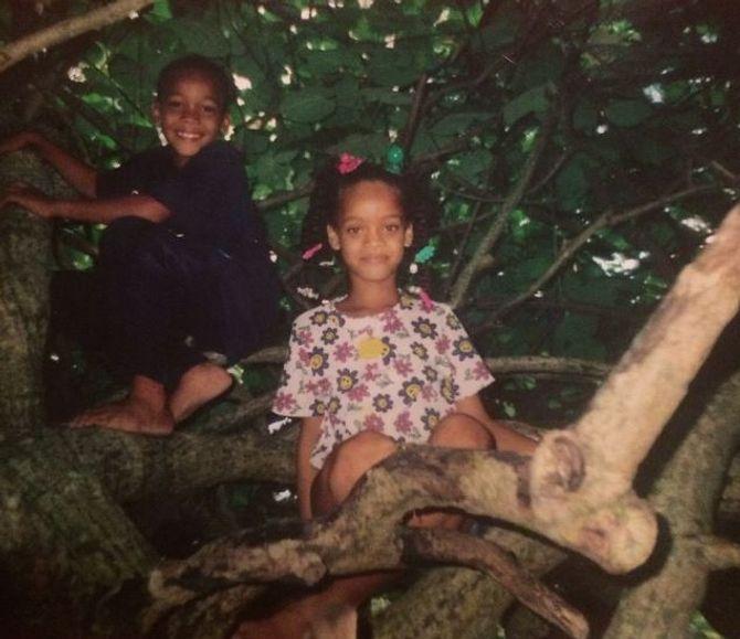 Rihanna enfant