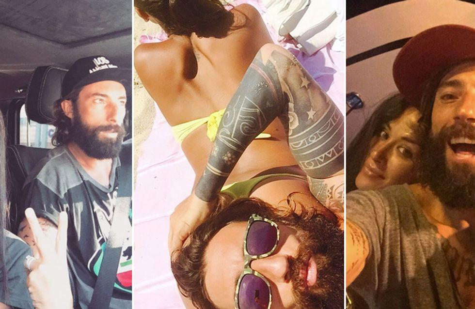 Palmas e Brumotti: amore a gonfie vele sotto il sole. Le romantiche foto della coppia!
