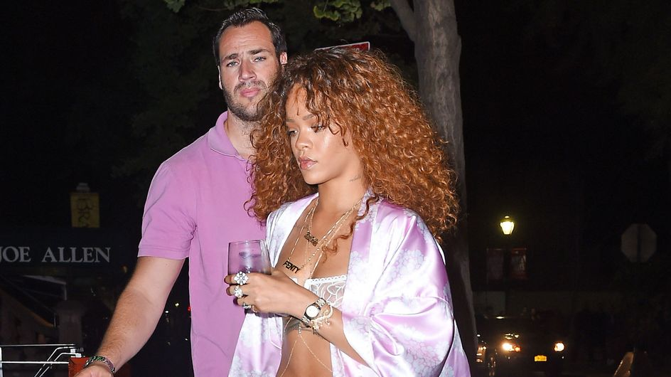 Rihanna y su look pijamero, peor look de la semana
