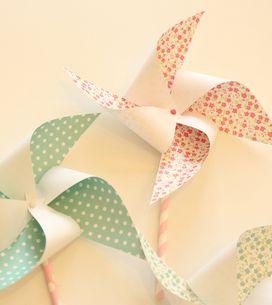 Réalisez un moulin à vent en papier
