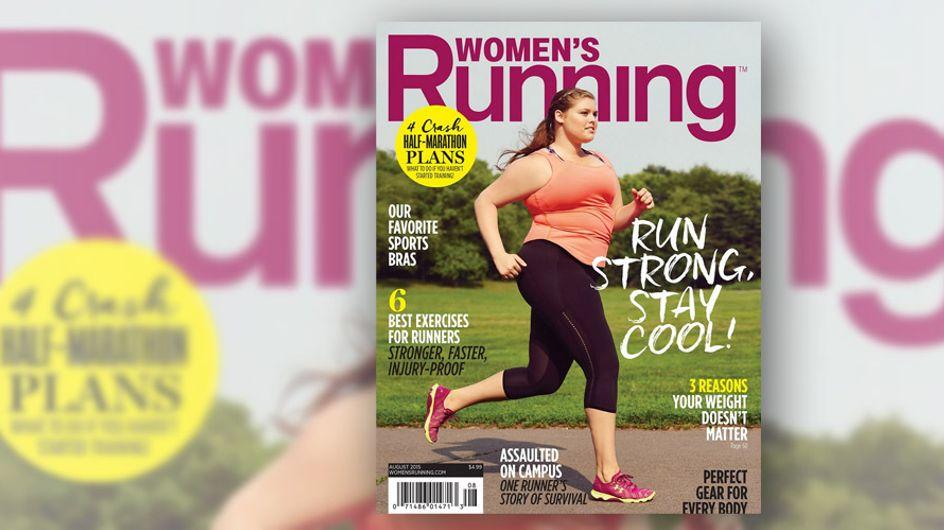 Ein Laufmagazin nimmt ein Plus-Size-Model aufs Cover und das Internet liebt es!