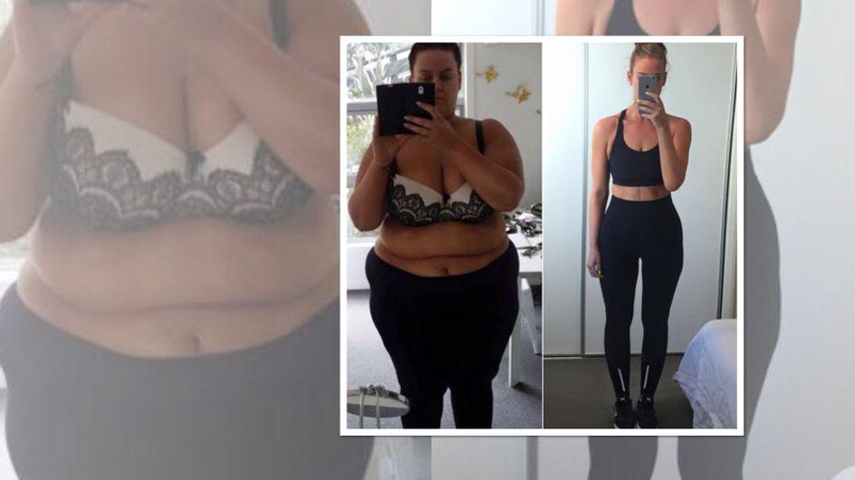 Keiner glaubt, dass sie wirklich 85 kg abgenommen hat. Doch dann zeigt sie es allen mit DIESEM Foto