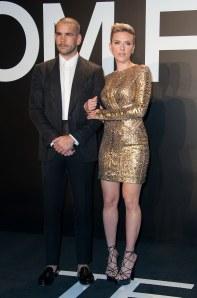 Romain Dauriac et Scarlett Johansson