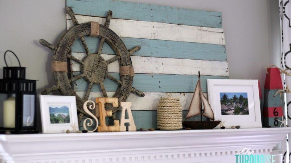 ¡Bienvenidas a bordo! Inspiración navy para el hogar