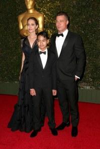 Angelina Jolie, Brad Pitt et Maddox
