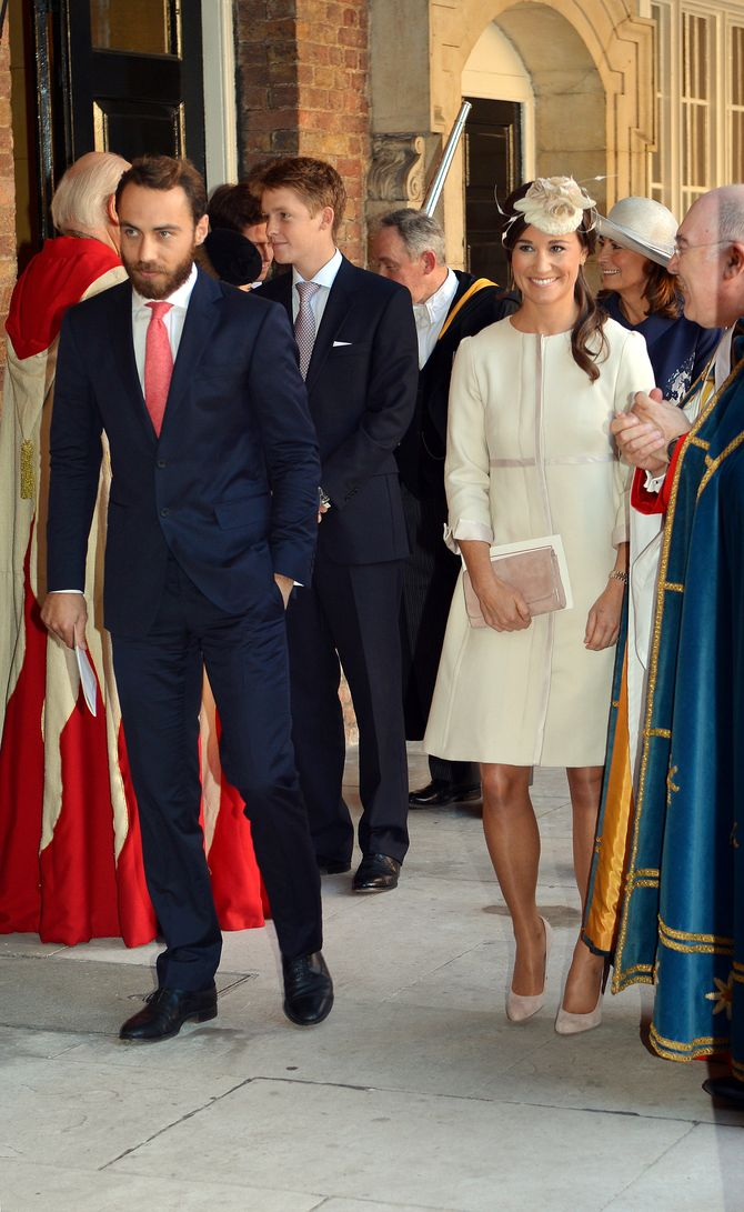 James Middleton et sa sœur Pippa