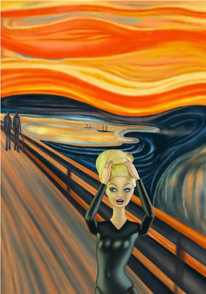 """O Grito"", Edvard Munch"