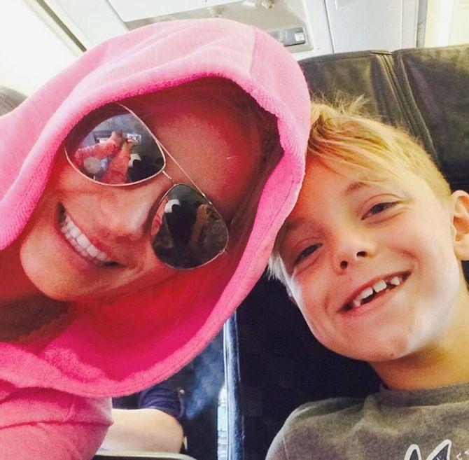 Britney Spears et son fils