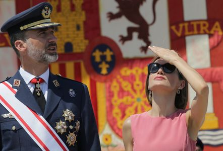 Los Reyes Felipe y Letizi