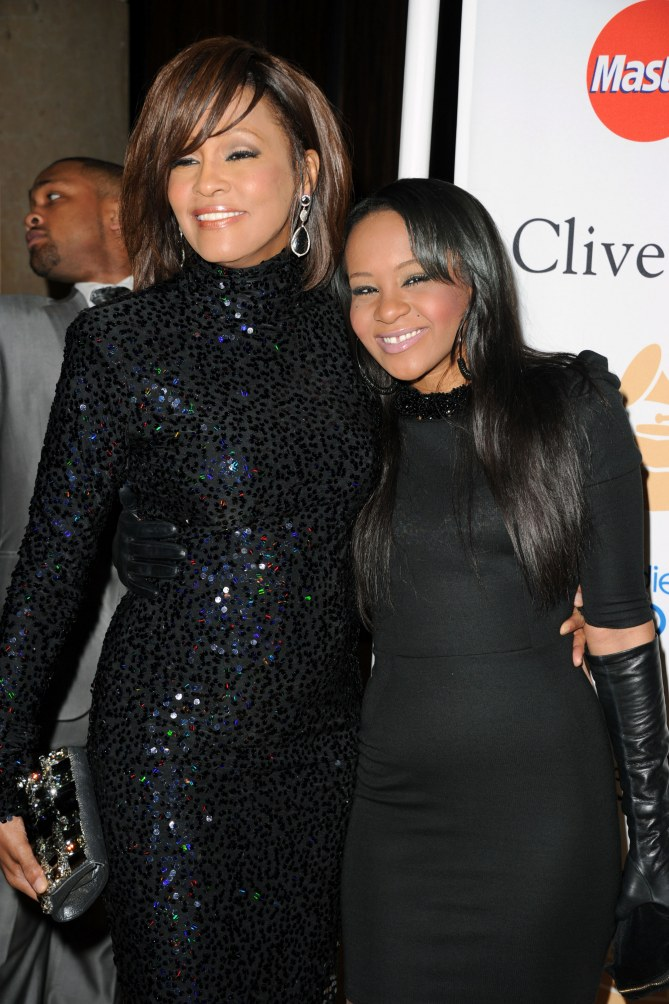 Bobbi Kristina Brown et Whitney Houston en 2011