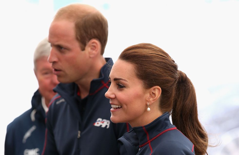 Kate Middleton sportive pour sa première sortie officielle depuis son accouchement (Photos)