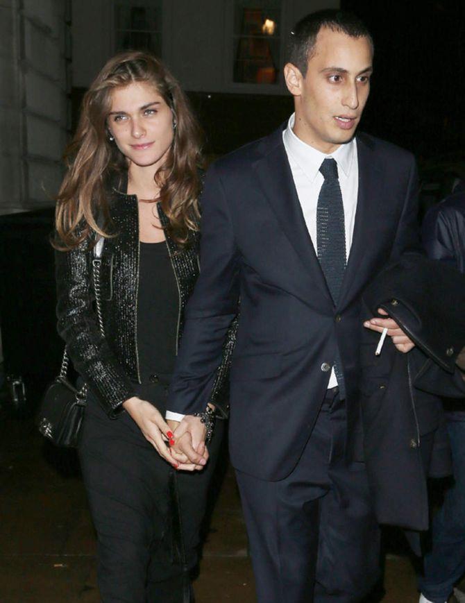 Elisa Sednaoui e Alex Dellal