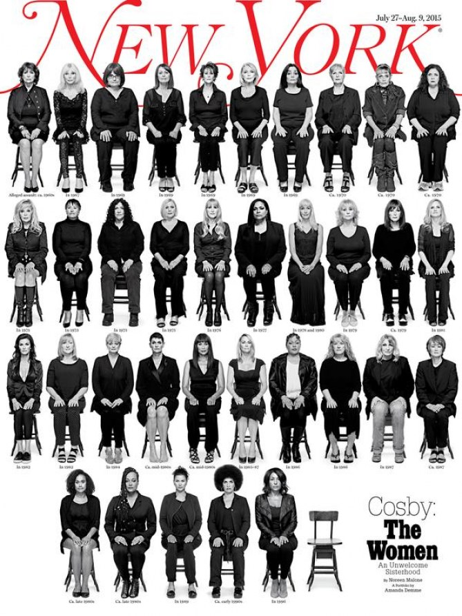 35 femmes accusant Bill Cosby d'agression sexuelle