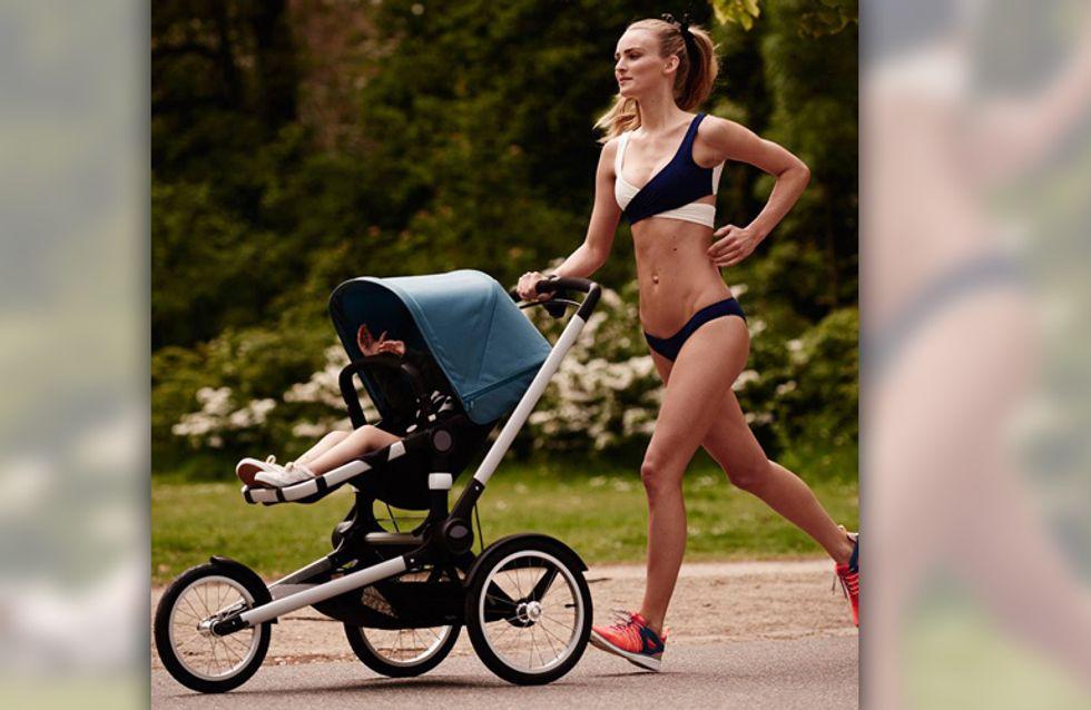 Diese Kampagne sorgt für Gesprächsstoff: Sollte man so für Kinderwagen werben?