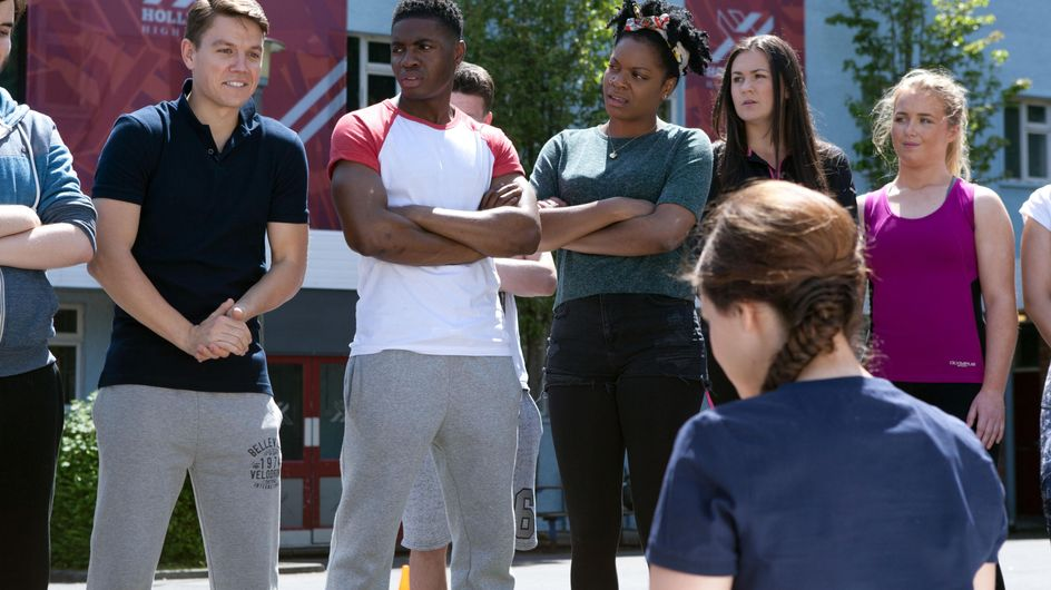Hollyoaks 3/08 - Carly is relieved when Ben allows her to go to a rehab centre