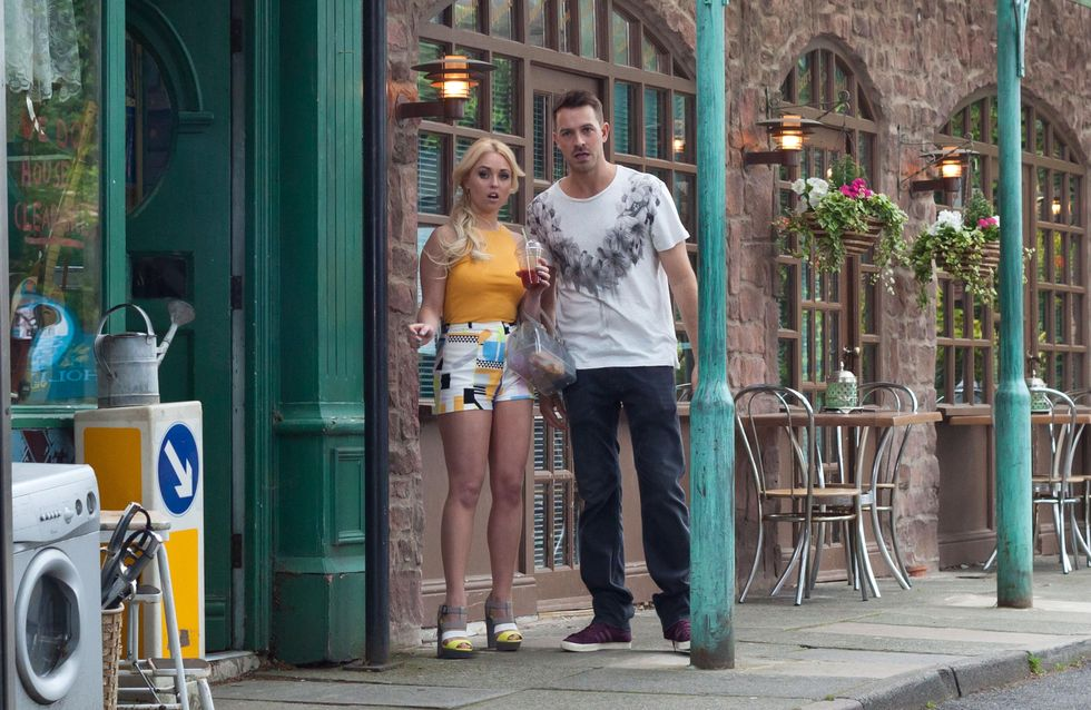 Hollyoaks 7/08 - Frankie reveals Kim gave Curtis to her and Jack