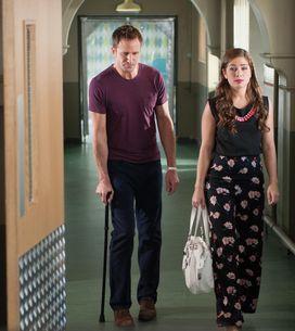 Hollyoaks 6/08 - Kim tells Frankie that she's Esther's next of kin