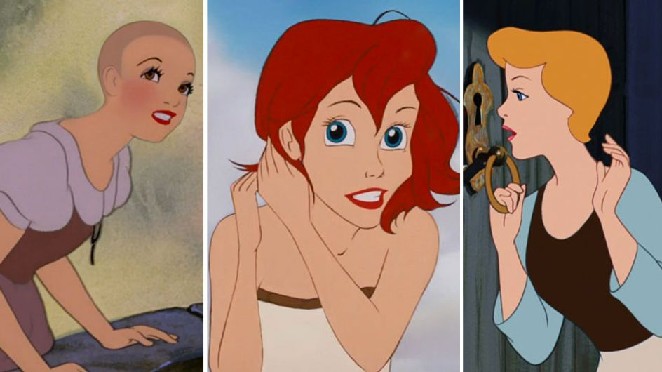 Il trend dei capelli corti invade Disneyland: ecco i tagli corti di Ariel e Cenerentola!