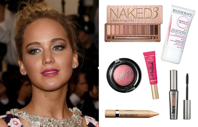 Copia el maquillaje de Jennifer Lawrence