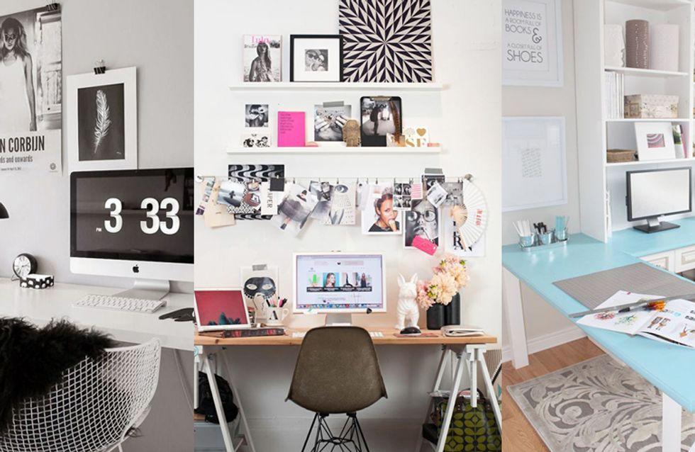 22 geniali idee per decorare e personalizzare la tua scrivania dell'ufficio o di casa!