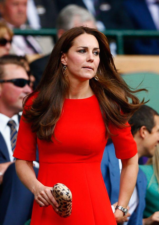 Pas de sac sur l'épaule pour Kate Middleton
