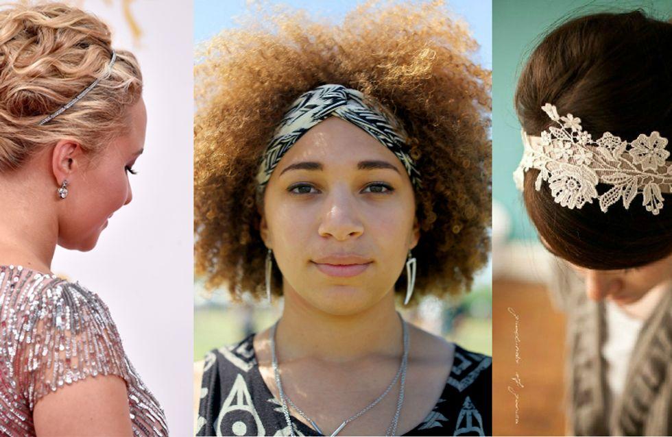 30 formas de usar tiara que vão fazer a sua cabeça!