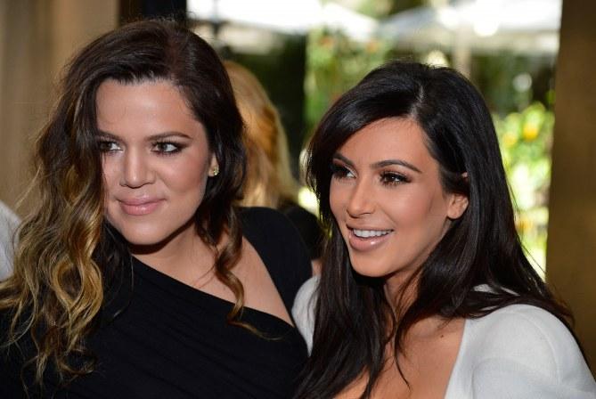 Khloé et Kim Kardashian