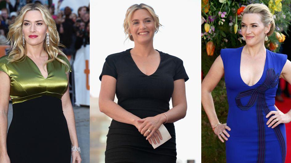 """Kate Winslet alla figlia Mia: """"Che fortuna, abbiamo le curve!"""""""