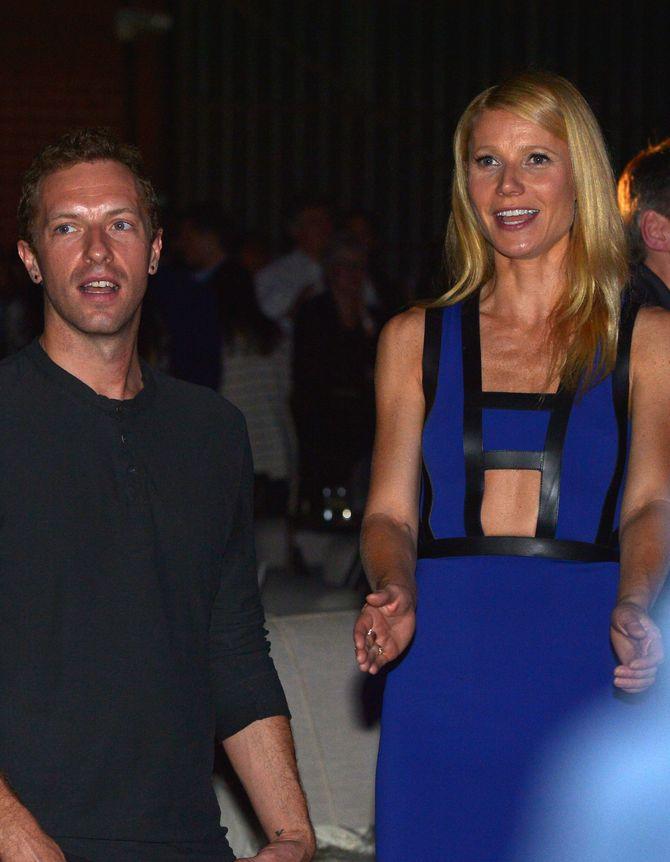 Chris Martin et Gwyneth Paltrow.