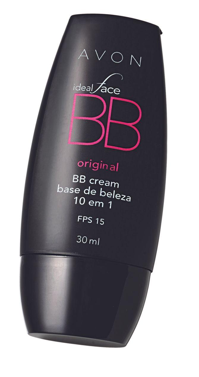 Ideal Face BB Cream Original Base de Beleza 10 em 1 FPS 15, Avon, R$ 40