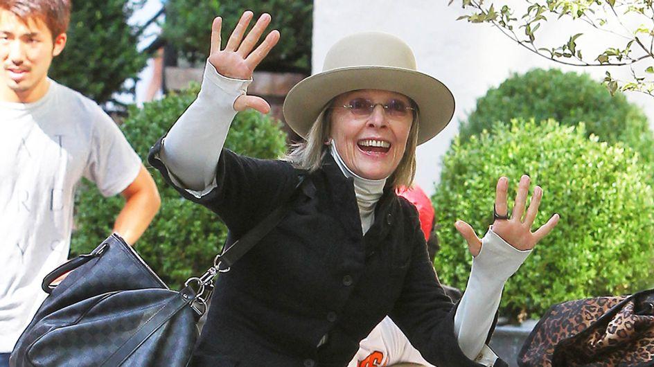 Diane Keaton y su look homeless, peor look de la semana