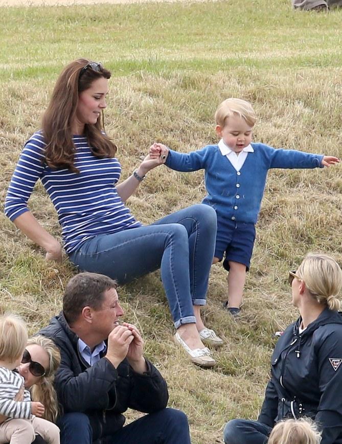 Kate Middleton et son fils