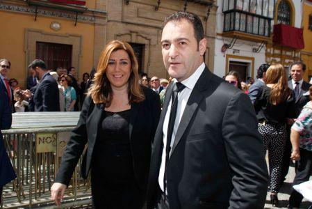 Susana Díaz y su marido