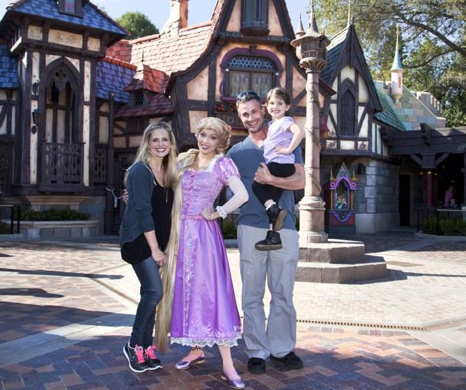 la famille de Sarah Michelle Gellar.
