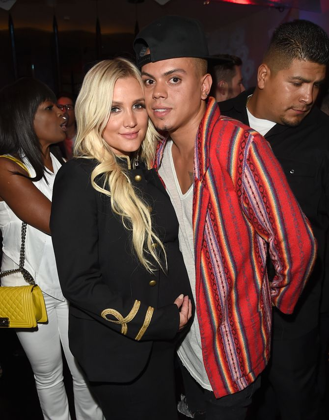 Ashlee Simpson et Evan Ross.
