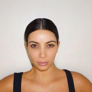 Kim Kardashian sans maquillage.