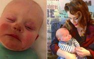 Baby mit 3-Tage-Bart: Deshalb sollte man vor dem Stillen keinen Selbstbräuner be