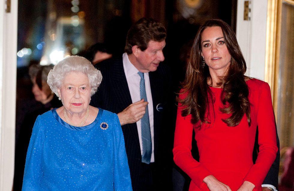 Kate Middleton furieuse contre la reine Elizabeth II