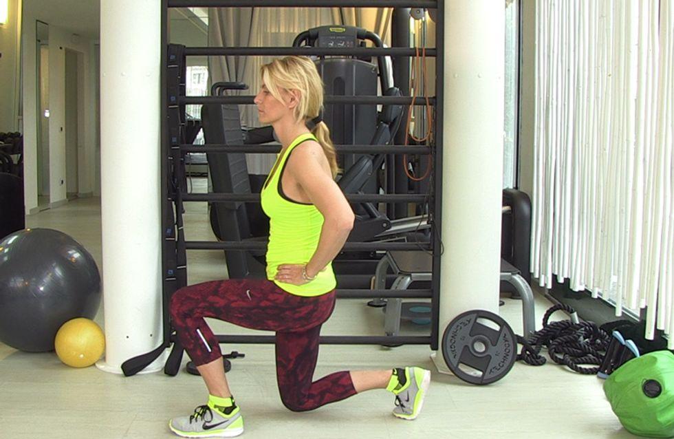 Video/ Allenati con Federica Fontana: il programma completo per le gambe