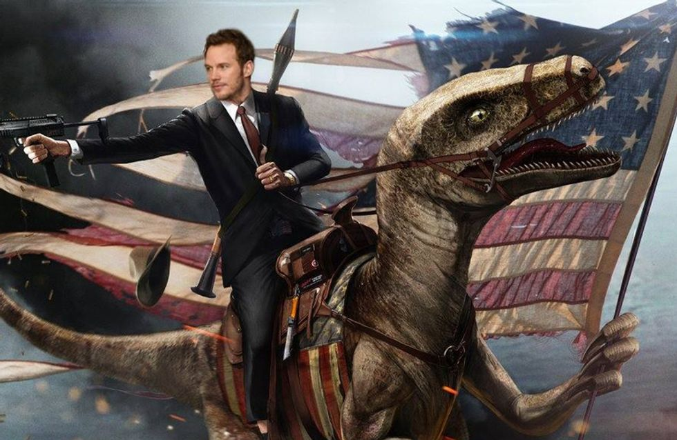 Chris Pratt Asked Fans To Design His Facebook Cover, And The Results Are Incredible