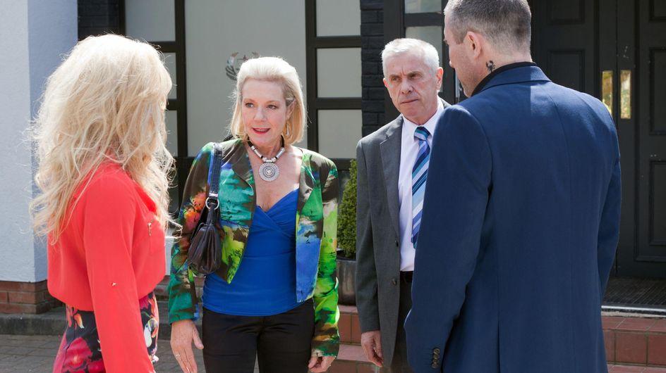 Hollyoaks 12/08 - Trevor, Grace, Frankie and Jack anxiously wait for the custody hearing to begin