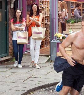 Hollyoaks 13/08 - Trevor gets a call from his credit card company