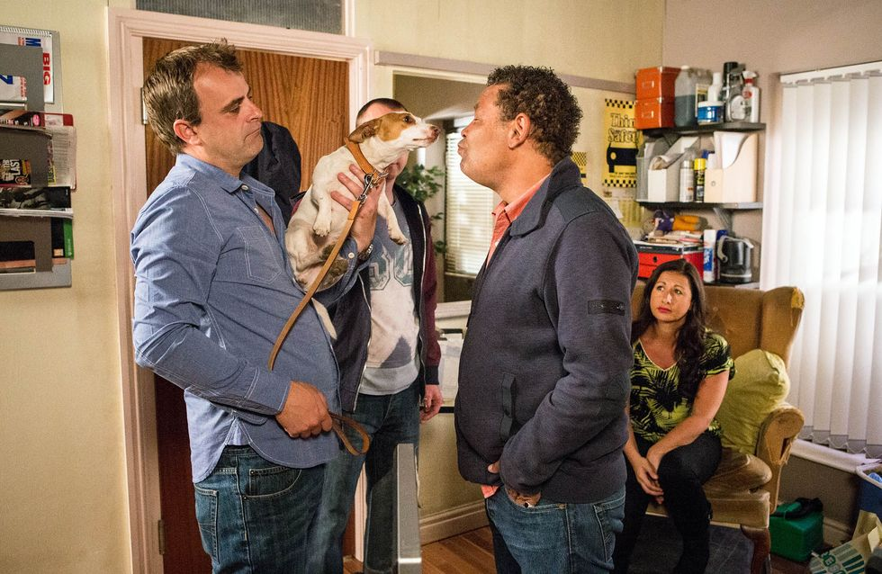 Coronation Street 12/08 - Simon spirals out of control