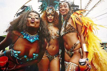 Rihanna et des amies