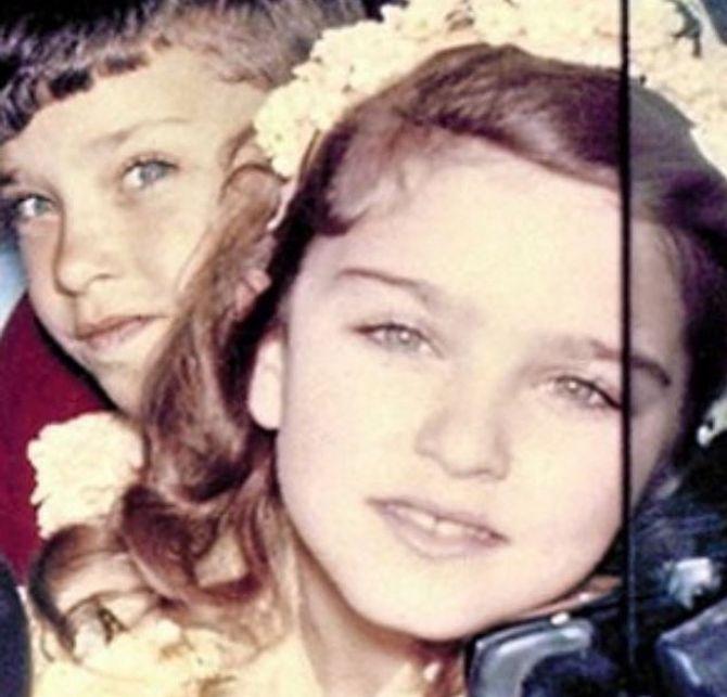 Madonna enfant.