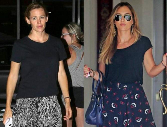 Jennifer Garner y su ex niñera Christine Ouzounian