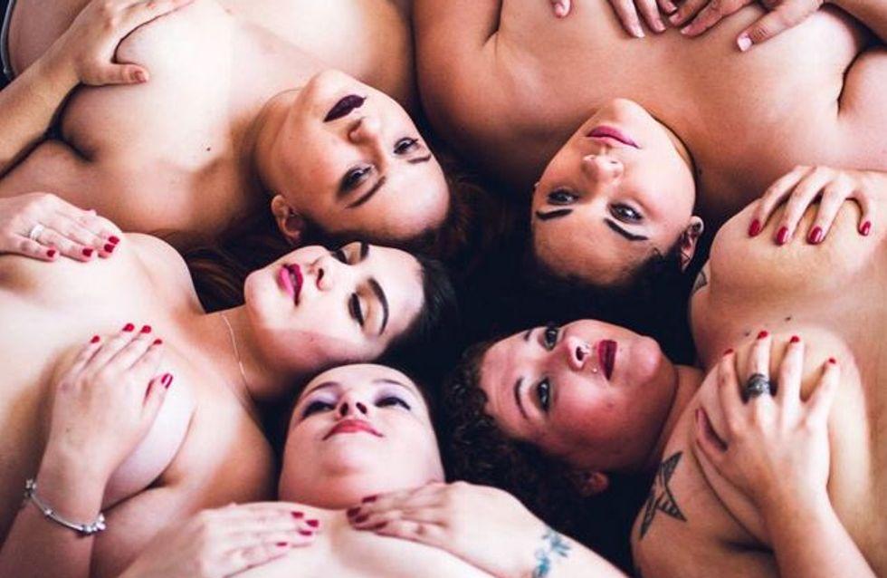 Des femmes plus size posent topless pour promouvoir l'acceptation du corps (Photos)